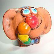 Куклы и игрушки ручной работы. Ярмарка Мастеров - ручная работа Радужный слоник. Handmade.