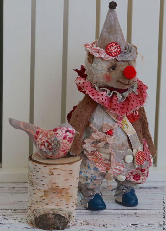 Мишки Тедди ручной работы. Ярмарка Мастеров - ручная работа. Купить Клоун Бон. Handmade. Коричневый, мишка тедди, мишутка