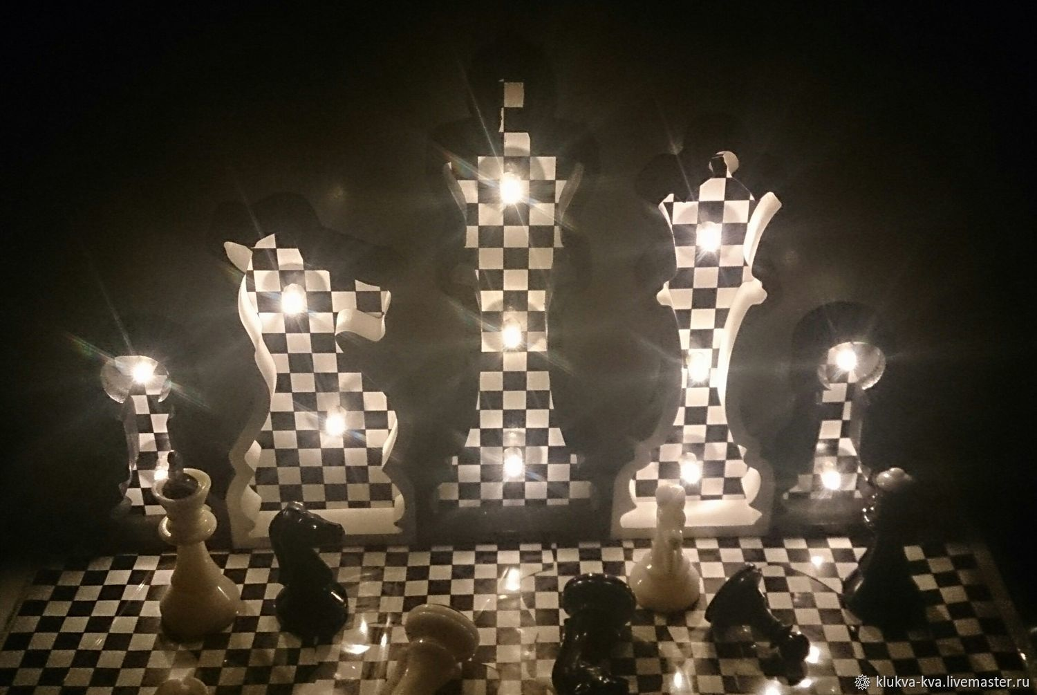 Night light for fans of Chess, Nightlights, Moscow,  Фото №1