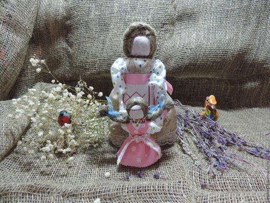 """Народные куклы ручной работы. Ярмарка Мастеров - ручная работа. Купить Кукла -оберег """"Ведучка"""". Handmade. Коричневый, символ"""