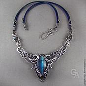 Украшения handmade. Livemaster - original item Necklace silver Labrador