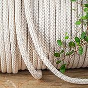 Материалы для творчества ручной работы. Ярмарка Мастеров - ручная работа Плетеный шнур 9 мм. Handmade.