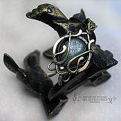 handmade. Livemaster - original item Pendant: brass with euromedicom Oriental tale. Handmade.