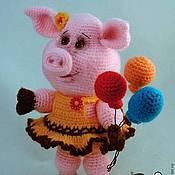 Куклы и игрушки ручной работы. Ярмарка Мастеров - ручная работа Свинка Шурочка. Handmade.