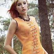 """Одежда ручной работы. Ярмарка Мастеров - ручная работа Платье """" Orange"""". Handmade."""