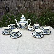 Vintage sets handmade. Livemaster - original item Tea set porcelain