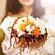Свадебные цветы ручной работы. Ярмарка Мастеров - ручная работа. Купить букет  невесты из стабилизированных цветов. Handmade. Букет невесты
