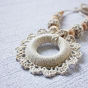 Одежда handmade. Livemaster - original item Slingobusy (slingatron, knitted pendent)