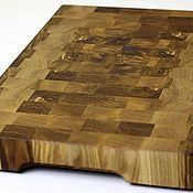 Для дома и интерьера handmade. Livemaster - original item End cutting Board №60. Handmade.
