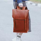 Сумки и аксессуары handmade. Livemaster - original item Backpack leather PORTLAND. Handmade.