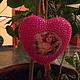 """Подарки для влюбленных ручной работы. Сердце""""Люблю"""". Баба Света. Ярмарка Мастеров. Елочные игрушки, новогоднее украшение, гвоздики"""