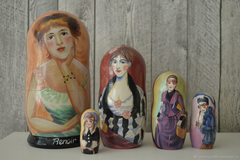 Dolls: Renoir portrait of Jeanne Samari, Dolls1, Ryazan,  Фото №1