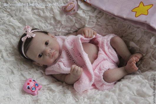 Куклы-младенцы и reborn ручной работы. Ярмарка Мастеров - ручная работа. Купить Дюймовочка. Handmade. Розовый, винил