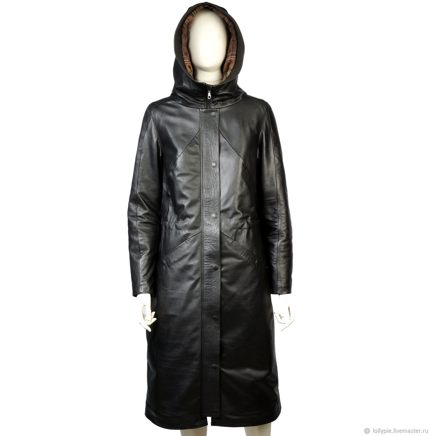 Genuine leather women's long coat, Coats, Moscow,  Фото №1