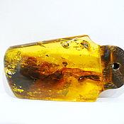 Украшения handmade. Livemaster - original item Amber. Pendant amber tree