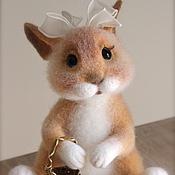 Куклы и игрушки ручной работы. Ярмарка Мастеров - ручная работа зайка Сара. Handmade.