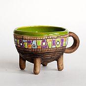 """Посуда ручной работы. Ярмарка Мастеров - ручная работа Чашка """"Мох"""". Handmade."""