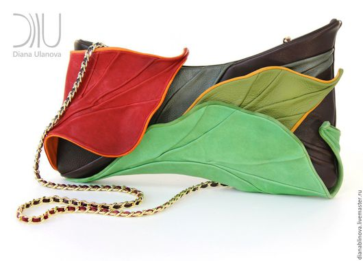 """Женские сумки ручной работы. Ярмарка Мастеров - ручная работа. Купить """"Тропик""""3. Handmade. Цветочный, комбинированный"""