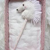 Куклы и игрушки ручной работы. Ярмарка Мастеров - ручная работа Иго-го на палочке. Handmade.