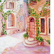 """Картины и панно ручной работы. Ярмарка Мастеров - ручная работа Картина """"Весна в Провансе 2""""бесплатная доставка, холст, масло. Handmade."""