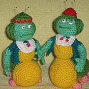 Куклы и игрушки ручной работы. Ярмарка Мастеров - ручная работа Вупсень и Пупсень. Handmade.