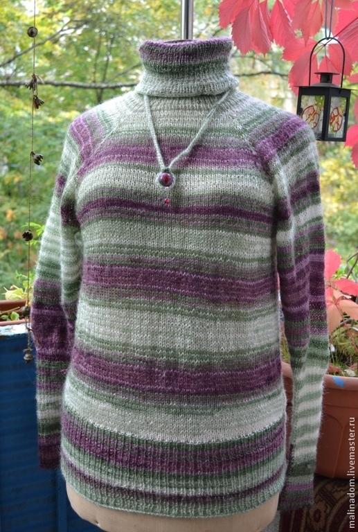 Кофты и свитера ручной работы. Ярмарка Мастеров - ручная работа. Купить Вязаная водолазка. Handmade. Мохер, водолазка свитер