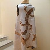 Одежда ручной работы. Ярмарка Мастеров - ручная работа Жилет Саламандра. Handmade.