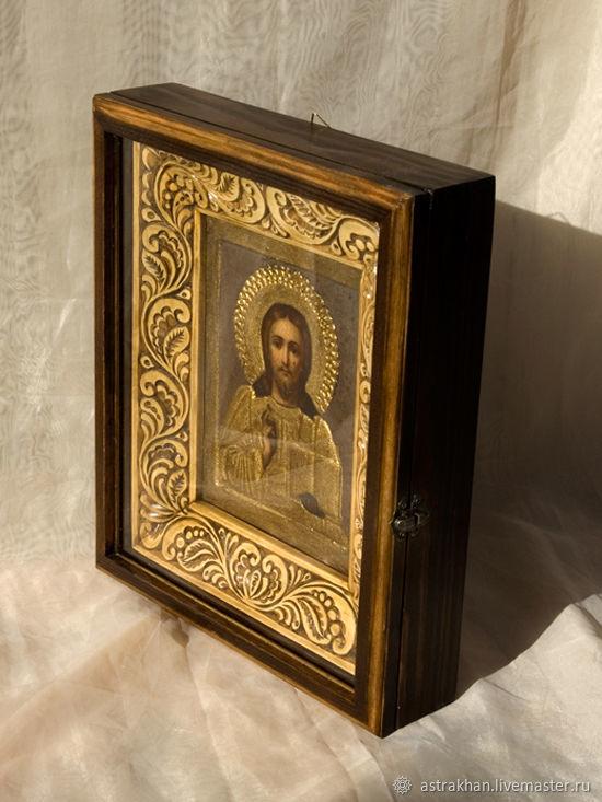 Киот для старой иконы, Иконы, Астрахань, Фото №1