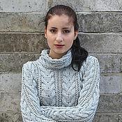Одежда handmade. Livemaster - original item Sweater made of cotton Norma. Handmade.