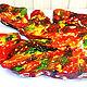 Блюдо из дерева, с росписью, под фрукты, декоративное, панно, Декоративная посуда, Туапсе, Фото №1