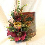 Сувениры и подарки ручной работы. Ярмарка Мастеров - ручная работа Аромат чая. Handmade.