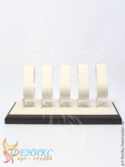 размер:230х95х100 артикул:Р-0305 подставка для демонстрации 5 предметов