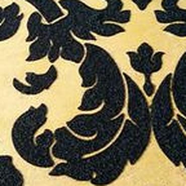 Diseño y publicidad manualidades. Livemaster - hecho a mano El estuco decorativo con el patrón de la plantilla para la seda, el terciopelo, la decoración de las. Handmade.