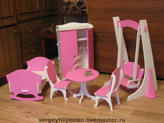 Кукольный дом ручной работы. Ярмарка Мастеров - ручная работа. Купить набор кукольной мебели. Handmade. Кукольная мебель