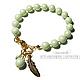 Bracelet CANDY DROP mint, Bead bracelet, Moscow,  Фото №1