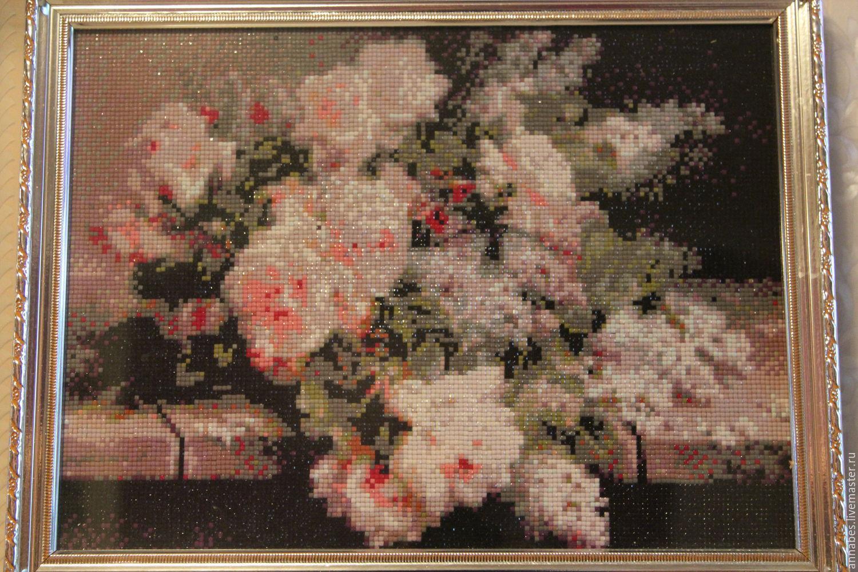 Алмазная вышивка бисером фото