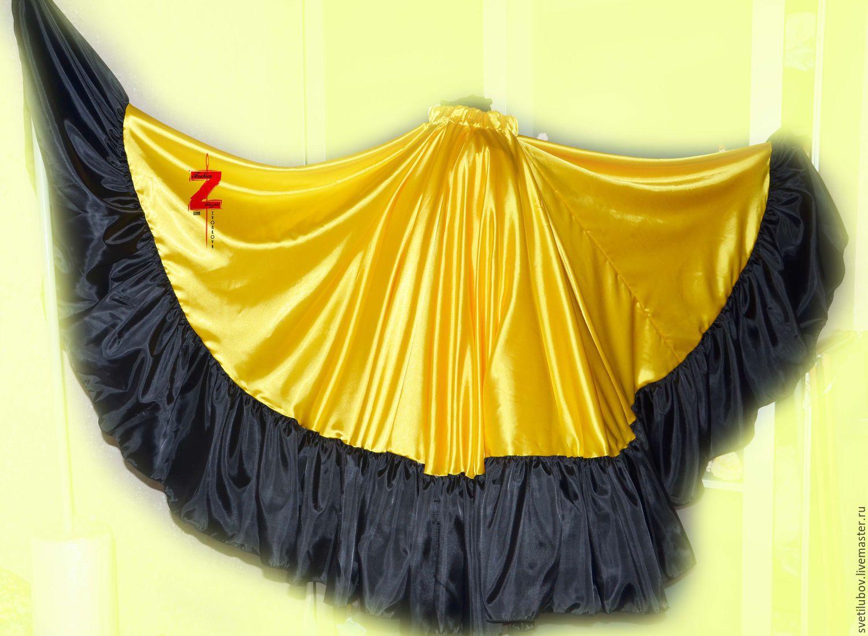 Цыганская юбка своими руками Мастер-классы на 3