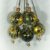 Подарки к праздникам handmade. Livemaster - original item A set of Christmas balls