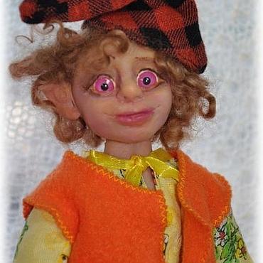 """Куклы и игрушки ручной работы. Ярмарка Мастеров - ручная работа Авторская кукла """"Домовенок"""". Handmade."""