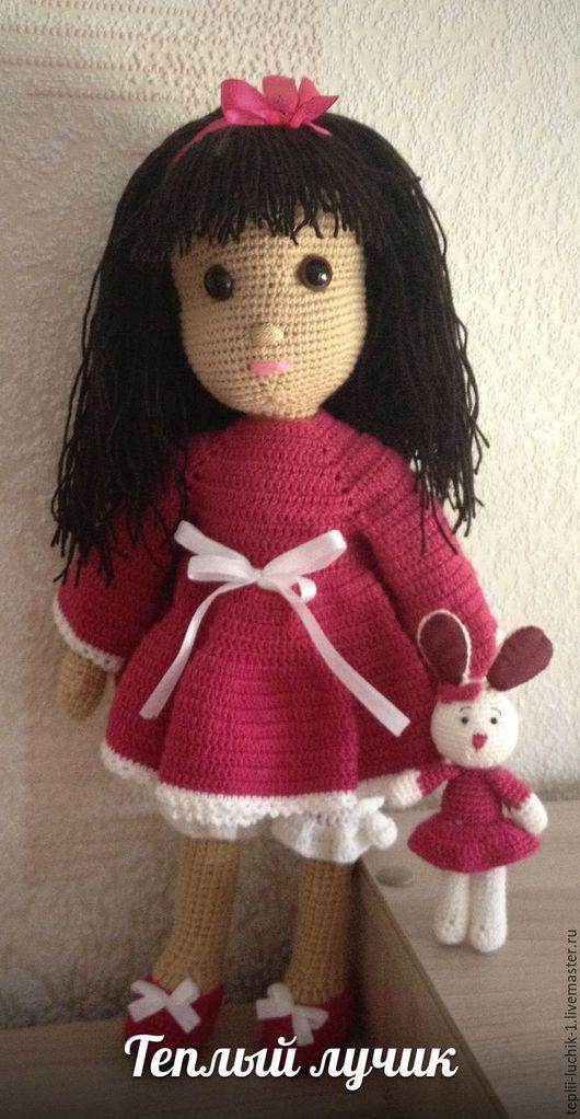 Человечки ручной работы. Ярмарка Мастеров - ручная работа. Купить Кукла Полина. Handmade. Комбинированный, кукла в подарок, холофайбер
