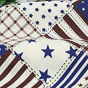 Материалы для творчества ручной работы. Ярмарка Мастеров - ручная работа Ткань хлопок США America Style 100%поплин для текстиля, пэчворка, штор. Handmade.
