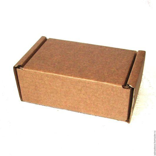 Упаковка ручной работы. Ярмарка Мастеров - ручная работа. Купить Коробочка крафт 130 х 80 х 55 мм. Handmade.