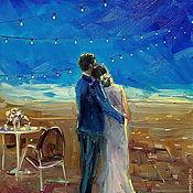 Картины и панно handmade. Livemaster - original item Oil painting on canvas. My home...my favorite!. Handmade.