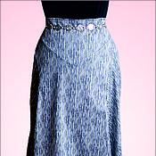 Одежда ручной работы. Ярмарка Мастеров - ручная работа Полосатая юбка. Handmade.