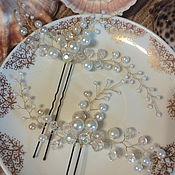 Украшения ручной работы. Ярмарка Мастеров - ручная работа Свадебные шпильки. Handmade.