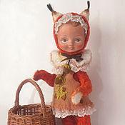 """Куклы и игрушки ручной работы. Ярмарка Мастеров - ручная работа Тедди-долл  """"Рыжая белочка"""". Handmade."""