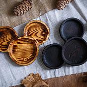 Plates handmade. Livemaster - original item Wooden plate