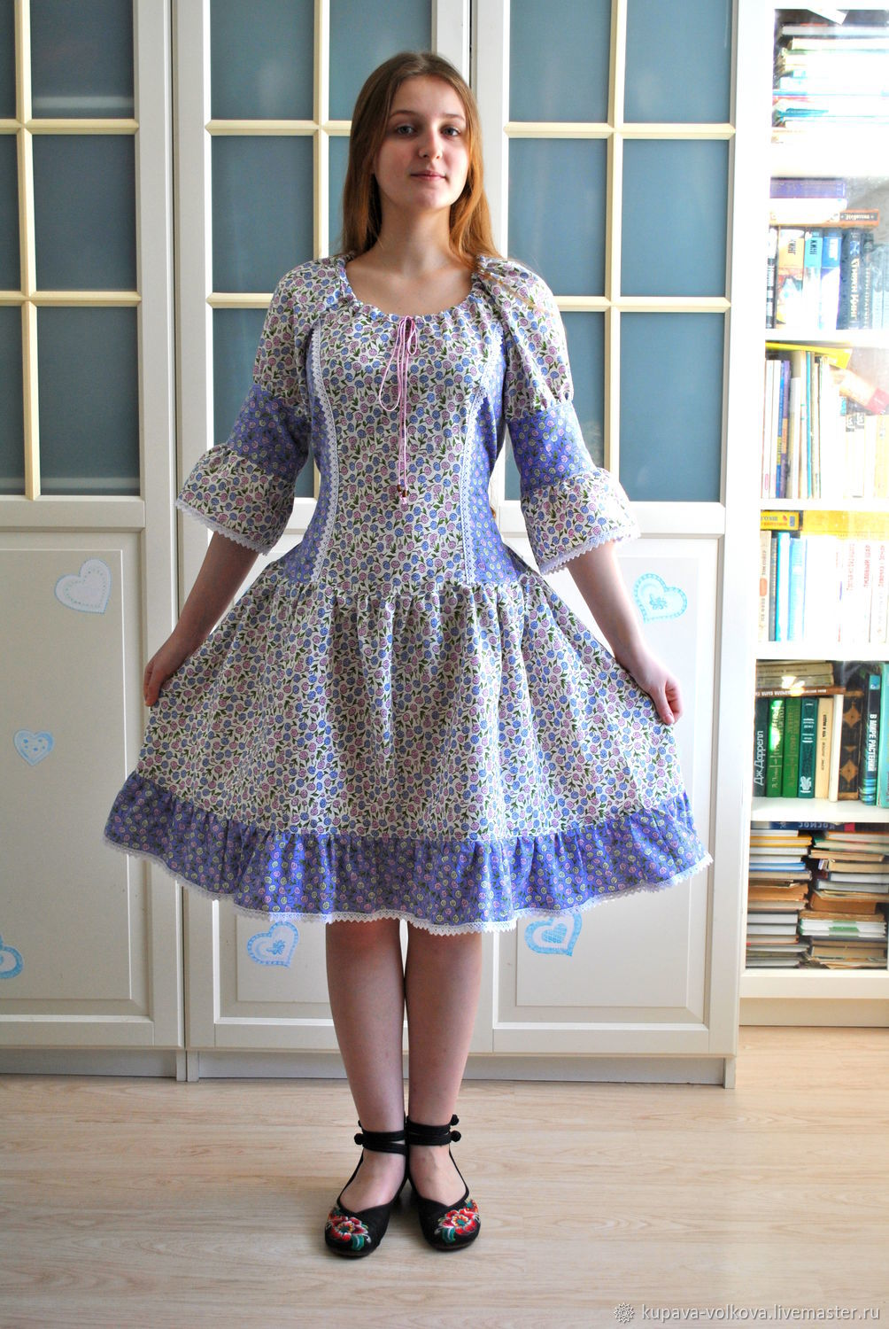 Summer dress Lavender in country boho style, Dresses, Anapa,  Фото №1