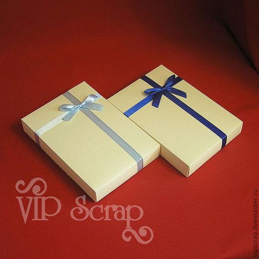 """Упаковка ручной работы. Ярмарка Мастеров - ручная работа. Купить Коробка подарочная """"крышка-дно"""" 200х140х30 мм из дизайнерского картона. Handmade."""