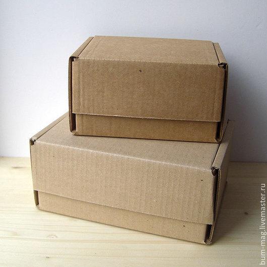Упаковка ручной работы. Ярмарка Мастеров - ручная работа. Купить ПОЧТОВЫЕ коробки, самосборные (разные размеры). Handmade. Упаковка
